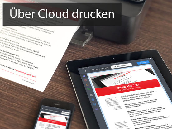 Printer Pro – Dokumente, Mails & Websites drucken Screenshot