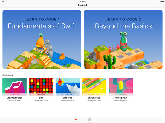 Apple vydal Swift Playgrounds a aktualizace iWork aplikací a Apple TV Remote