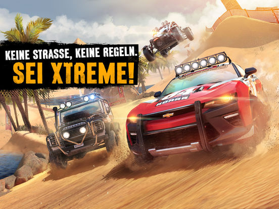 Asphalt Xtreme iOS Screenshots