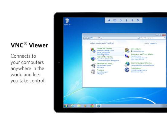 VNC Viewer Screenshot