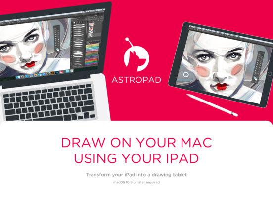 Astropad Grafiktablett Screenshot