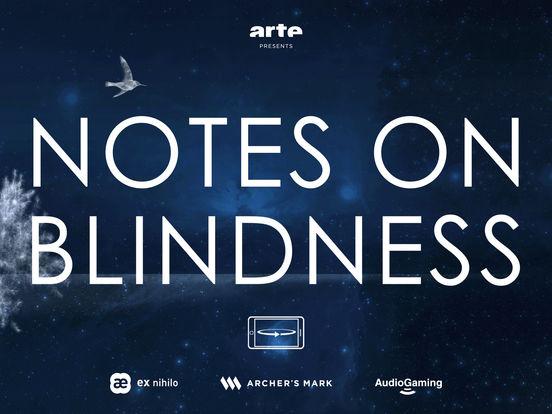 Notes On Blindness VR Screenshot