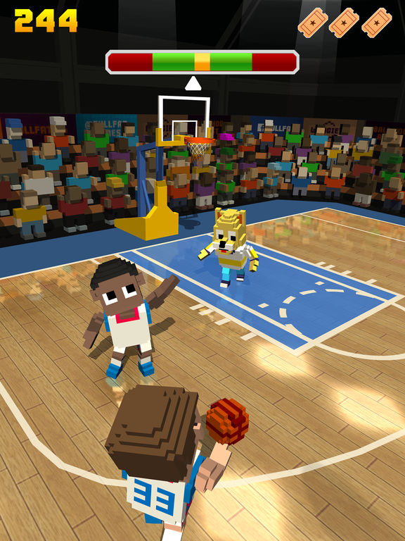 Blocky Basketball - Endless Arcade Dunker iPhone iPad