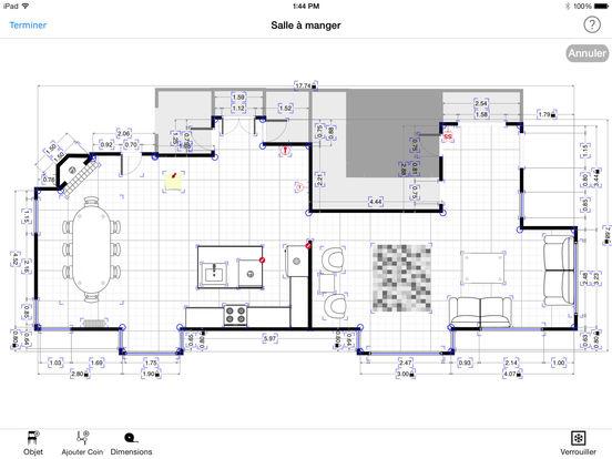 Plan De Maison Facile Les Murs Dessin DuUn Plan De Maison En