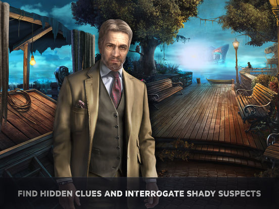 Adam Wolfe: Dark Detective Mystery Game iOS Screenshots