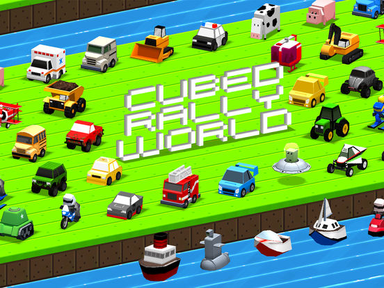 Cubed Rally World iOS Screenshots