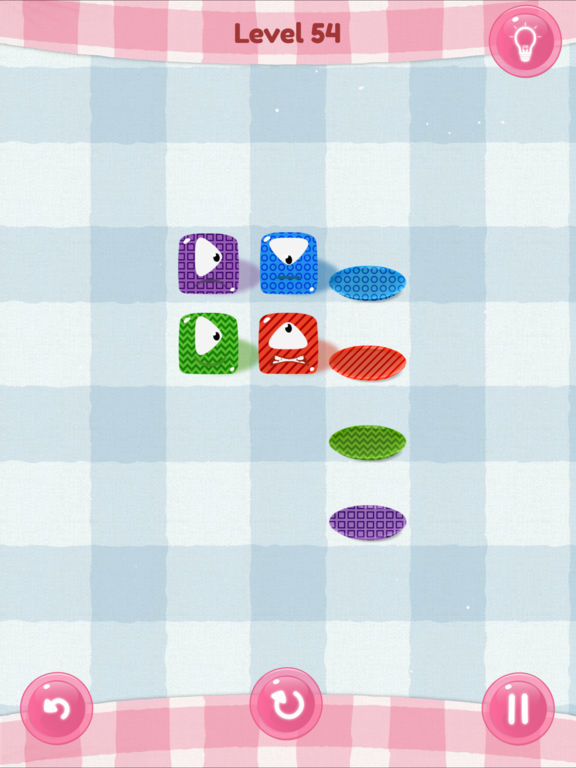 Jelly Squares iPhone iPad