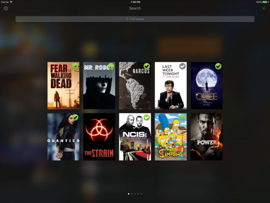 TeeVee 3 - Your TV Shows Guru Screenshot