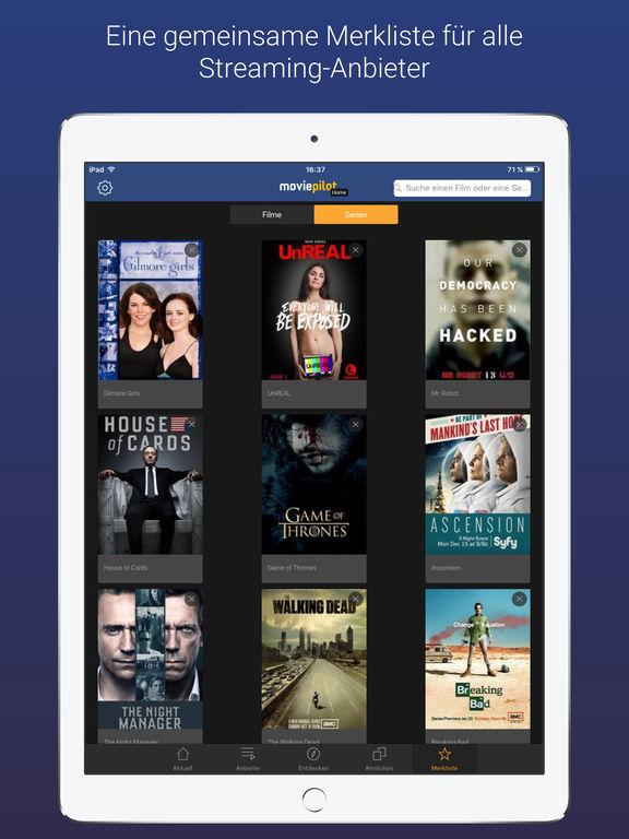 moviepilot Home - Filme, Serien zum Streamen Screenshot