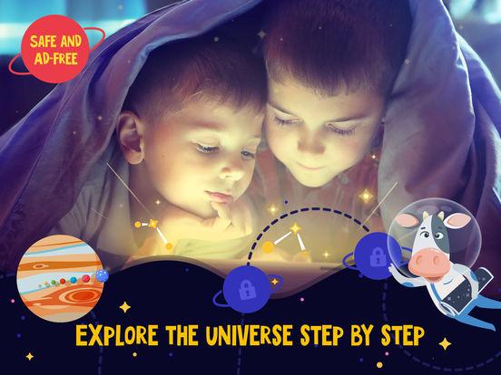 Star Walk ™ Kids: Aan het leren Astronomie, Ruimte Screenshot