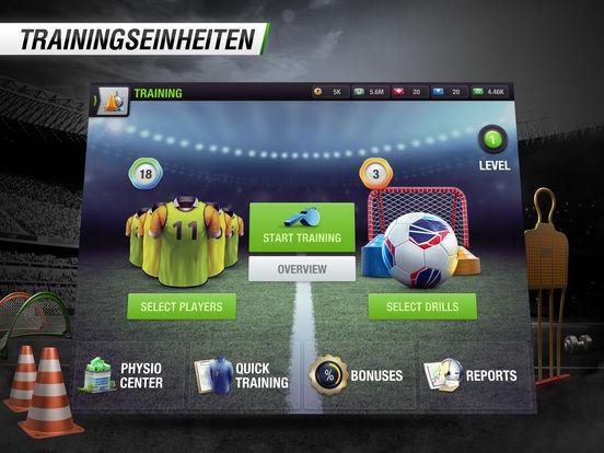 Top Eleven 2017 - Fußball-Manager Screenshot