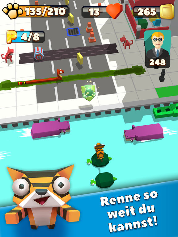 Wild City Rush - Urban Jungle Adventure iOS Screenshots