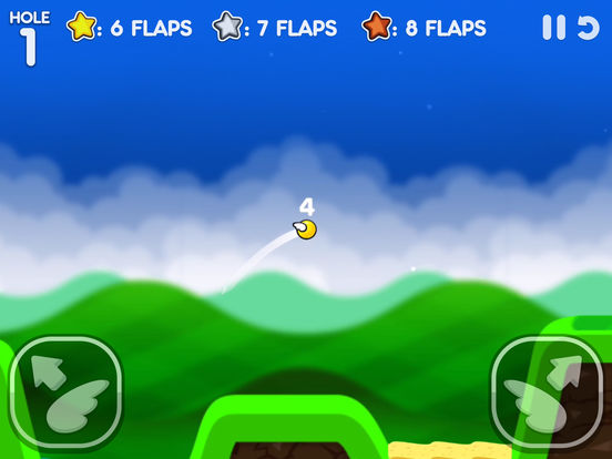 Flappy Golf 2 iOS Screenshots