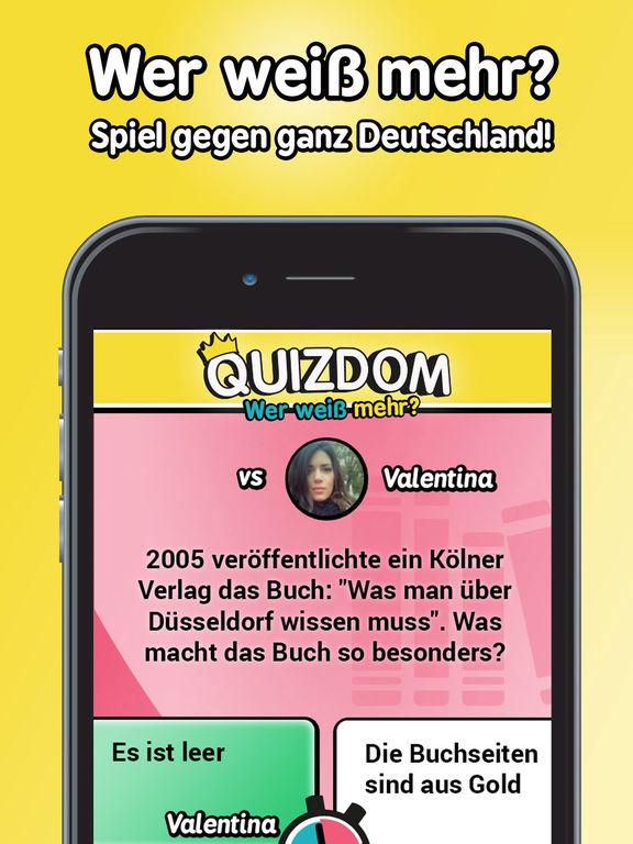 Quizdom - Wer weiß mehr? iPhone iPad