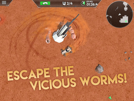 Desert Worms iOS Screenshots