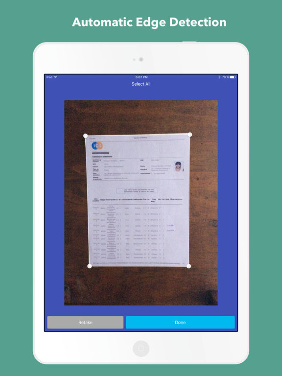 JetScanner: Camera to PDF, scan image documents Screenshot