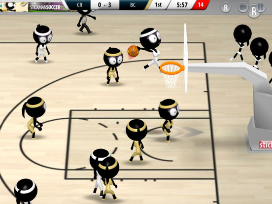 Screenshot 3 Stickman Basketball 2017
