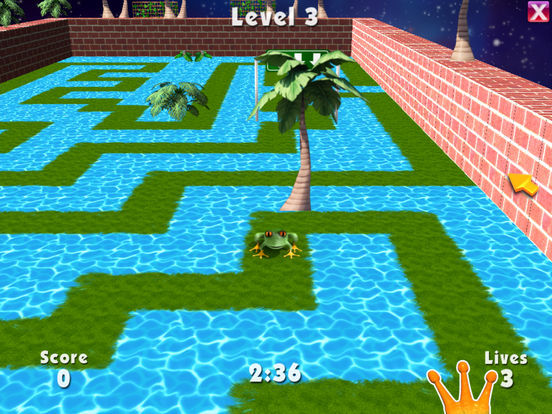 3D Frog Frenzy Screenshots
