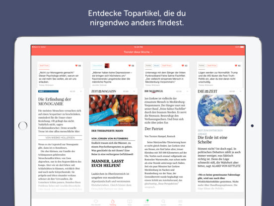 Blendle Screenshot