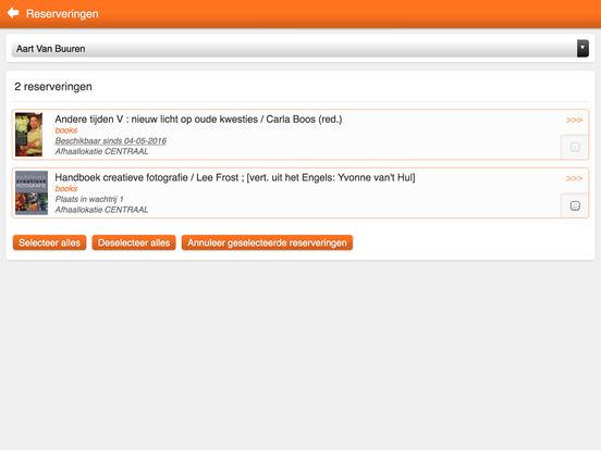 39 iguana bibliotheek 39 in de app store - Geintegreerde bibliotheek ...