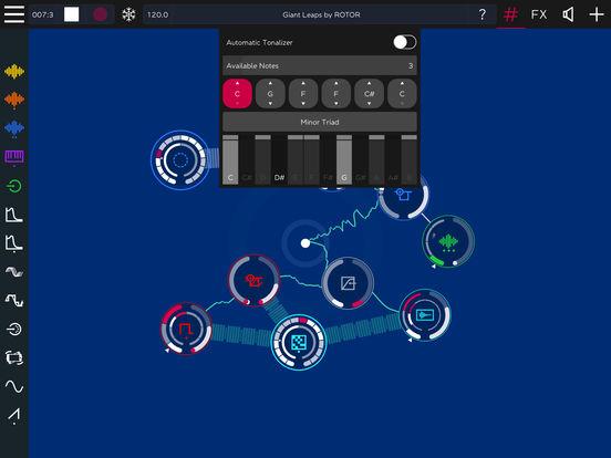ROTOR - Tangible Modular Music Synth Screenshot
