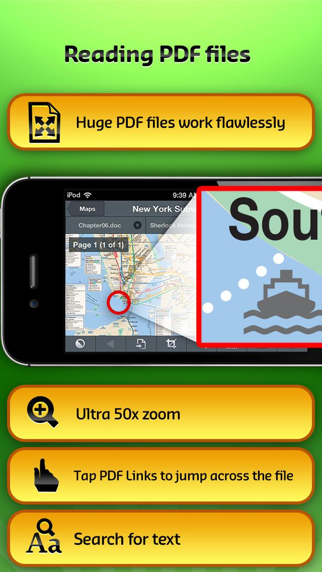 GoodReader for iPhoneのおすすめ画像3