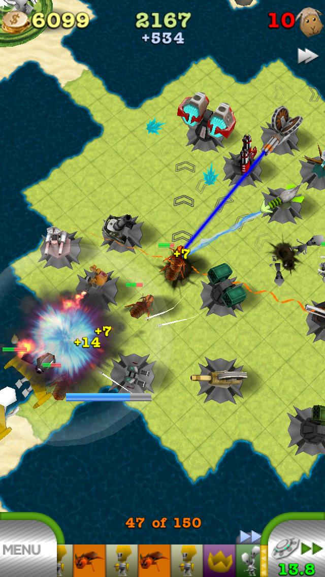 TowerMadness Zero screenshot1