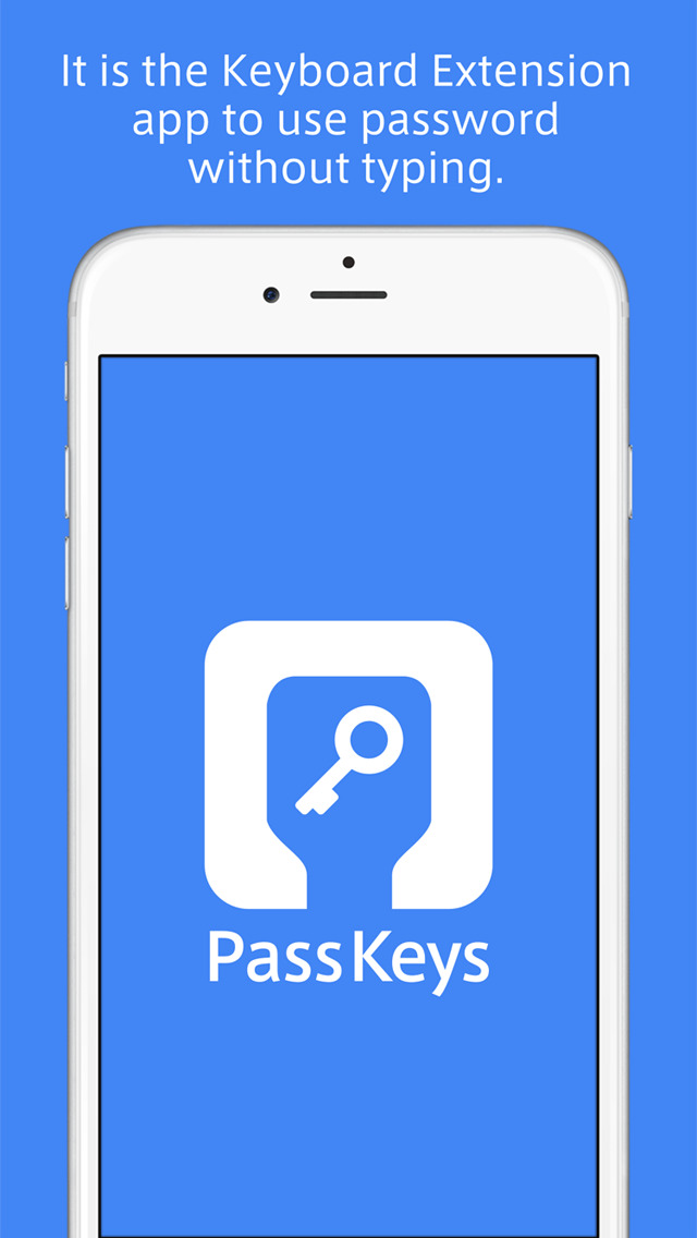 PassKeys screenshot1