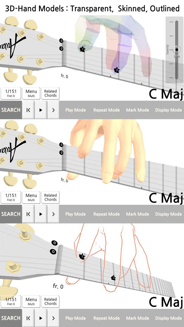 ギター和音百科事典 3Dのおすすめ画像3