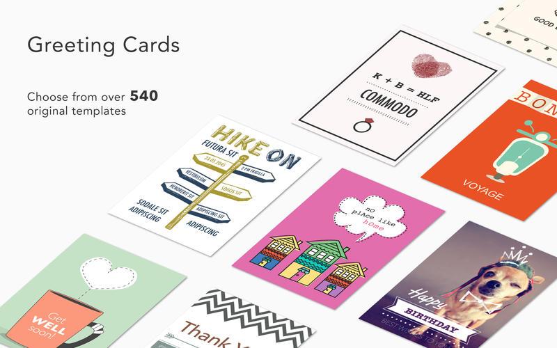 2017年2月1日Macアプリセール グリーティングカード・メーカーアプリ「Greeting Cards」が値下げ!