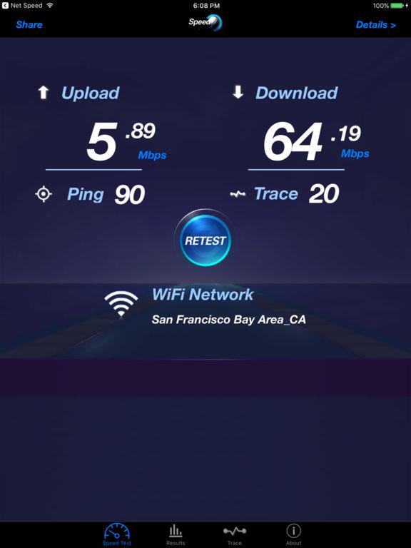 Internet Speed - Mobile Screenshot