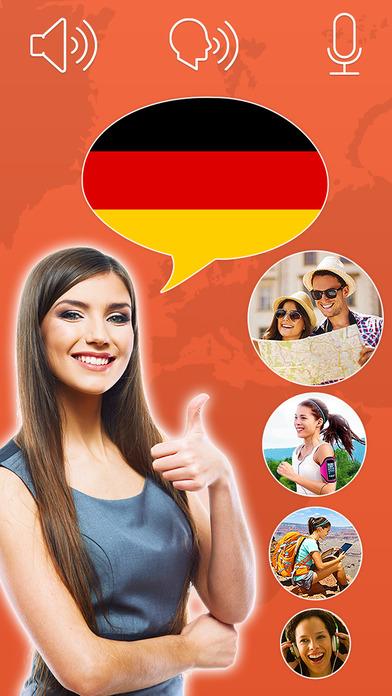 Mondly: ドイツ語を無料で学ぼう - 読み方、書き方を勉強 - 語彙と文法 Screenshot