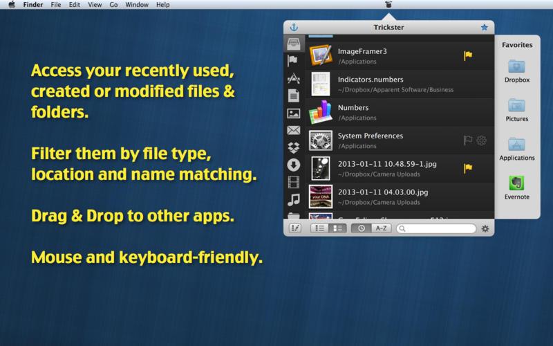 2015年5月14日Macアプリセール ドキュメントアクセス短縮ツール「Trickster」が値下げ!