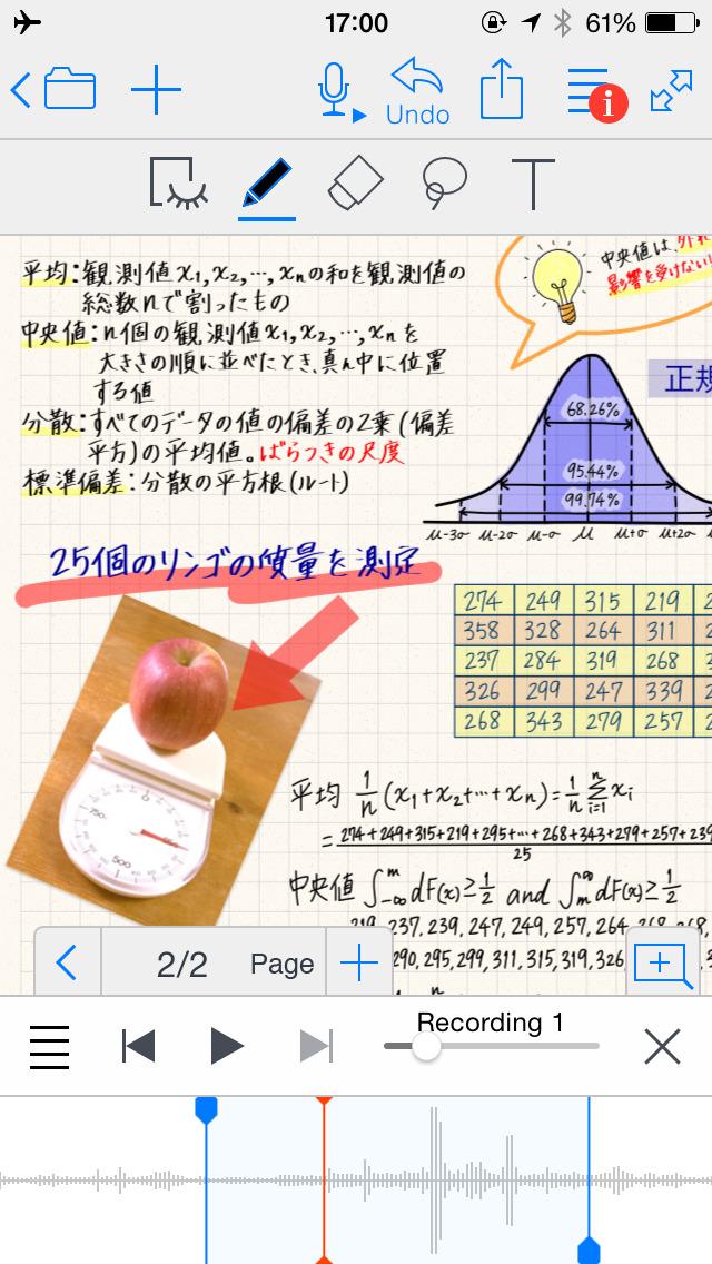 2014年12月20日iPhone/iPadアプリセール 高性能なノートツール「My Sketch Paper HD」が無料!