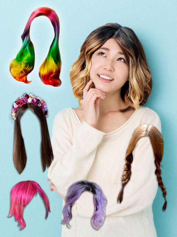 ヘアスタイル&髪型変身フォトエディタ,Proのおすすめ画像1
