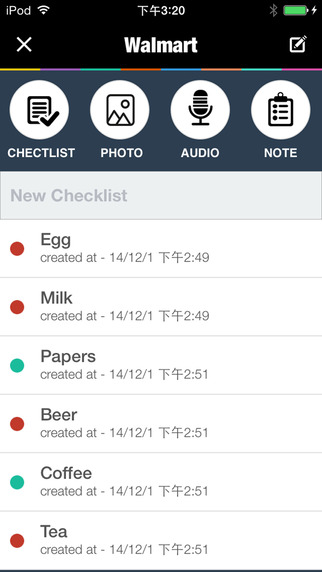 Todoo - Tasks, Checklists & To-Do Lists Screenshots