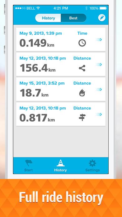 GPS Cycle Computer Pro Screenshots