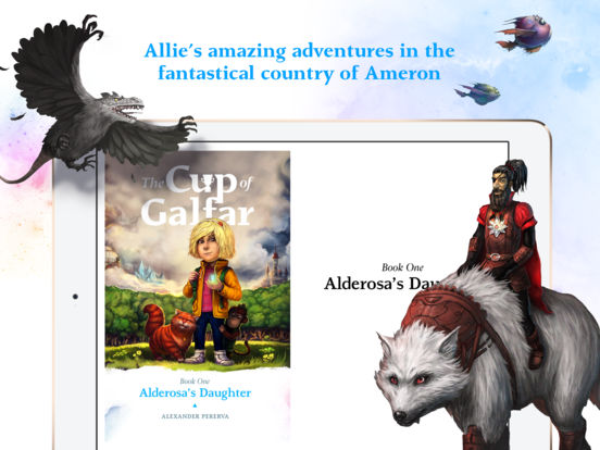 The Cup of Galfar: Fantasy story and hero's novel Screenshots