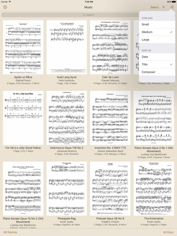 Paperless Music Screenshots