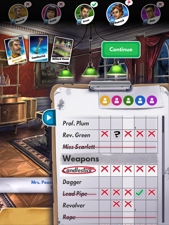 Cluedo: The Official 2017 Edition Screenshots