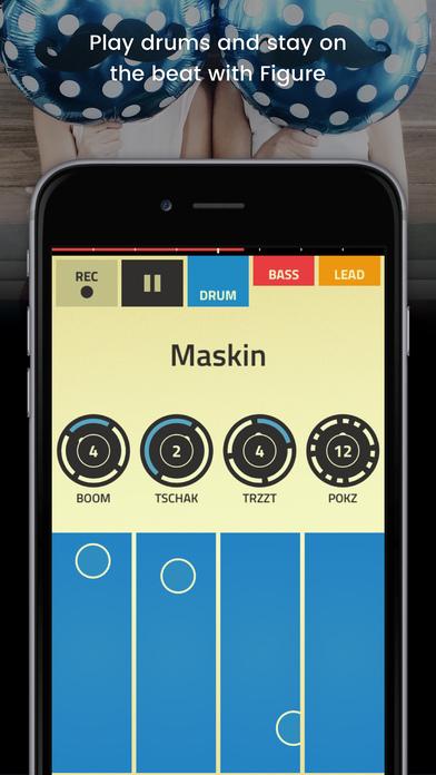 Figure - Make Music & Beats, Remix on Allihoopa Screenshots