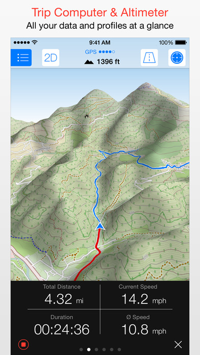 Maps 3D PRO - GPS for Bike, Hike, Ski & Outdoor Screenshots