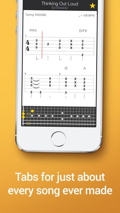 Tab Pro: learn, hear & play multitrack guitar tabs Screenshots