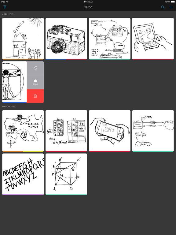 Carbo - Handwriting in the Digital Age Screenshots