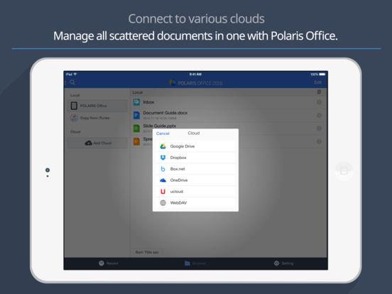 Polaris Office 2016 - PDF Screenshots