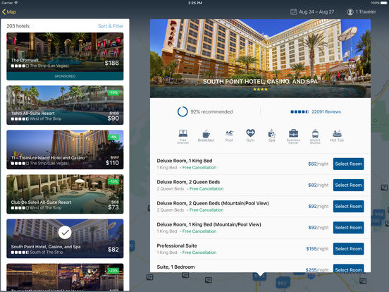 Expedia Hotels, Flights, Car Rental & Activities Screenshots