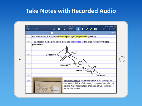 AudioNote - Notepad and Voice Recorder Screenshots