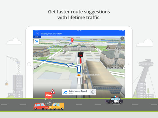 Sygic Europe: Navigation, TomTom offline maps Screenshots