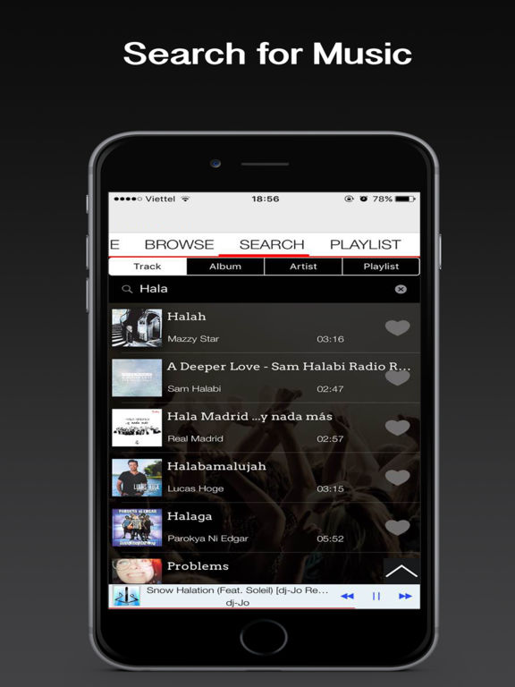 Premium Plus Music, Music Player & Playlist Manager for Spotify Premium Screenshots