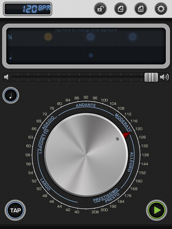 Metronome 9th: Pro Instrument for Music Practice Screenshots
